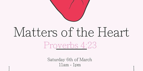 TUR WOW Proverbial Series ; Matters of the Heart. tickets