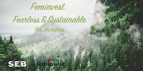 Fearless & Sustainable  -  Dag 1 för Investeraren biljetter