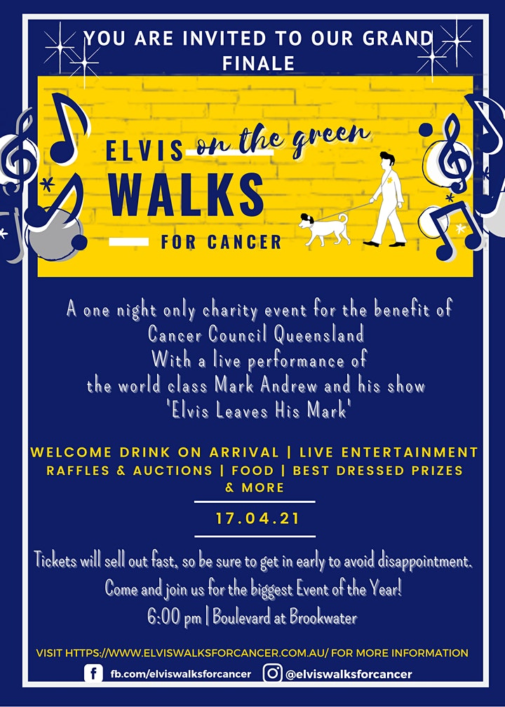 Elvis on the Green Walks for Cancer image