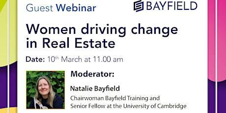 Guest Webinar: Women Driving Change in Real Estate tickets
