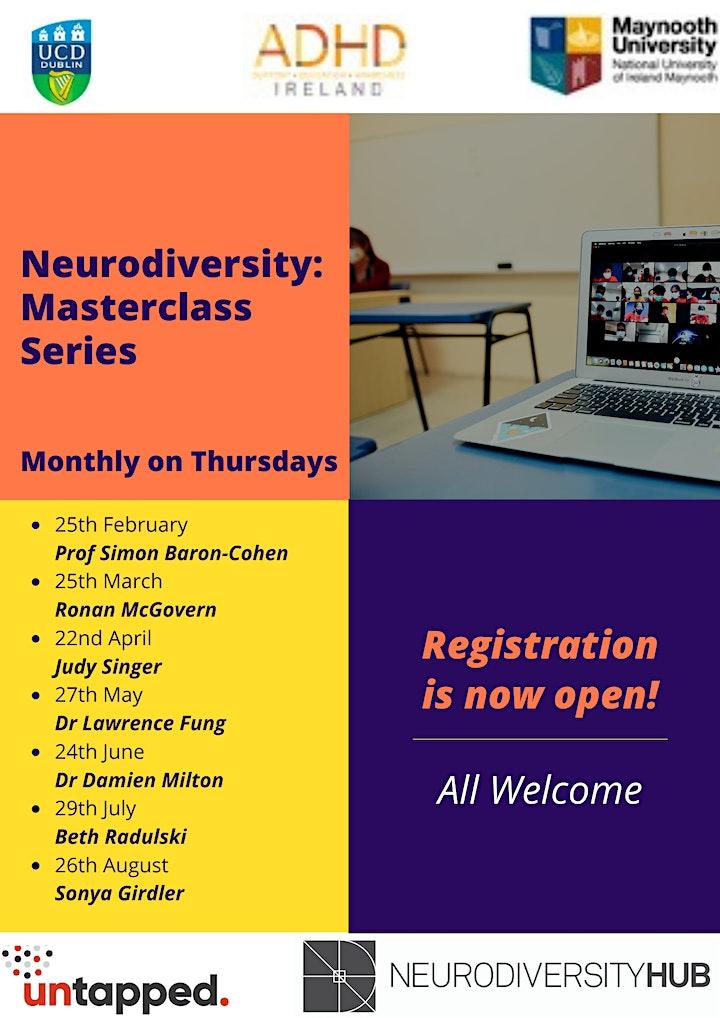 Neurodiversity -  Masterclass Series image
