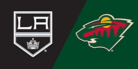 ONLINE-StrEams@!. Los Angeles Kings v Minnesota Wild LIVE ON NHL 2021 tickets