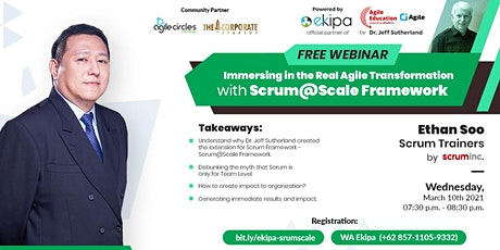 Immersing in The Real Agile Transformation with Scrum@Scale Framework biglietti