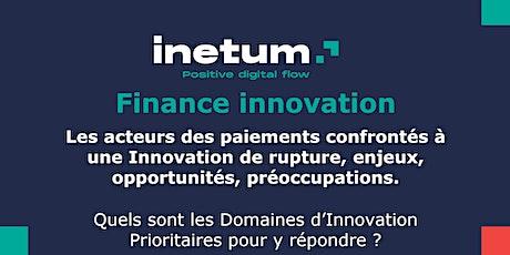 Groupes de Travail Paiement by Finance Innovation billets