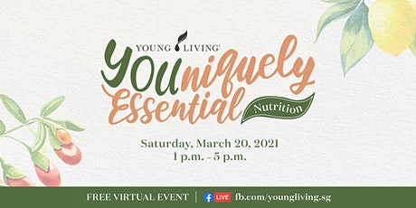 YOUniquely Essential: Nutrition -  FREE Virtual Wellness Event tickets