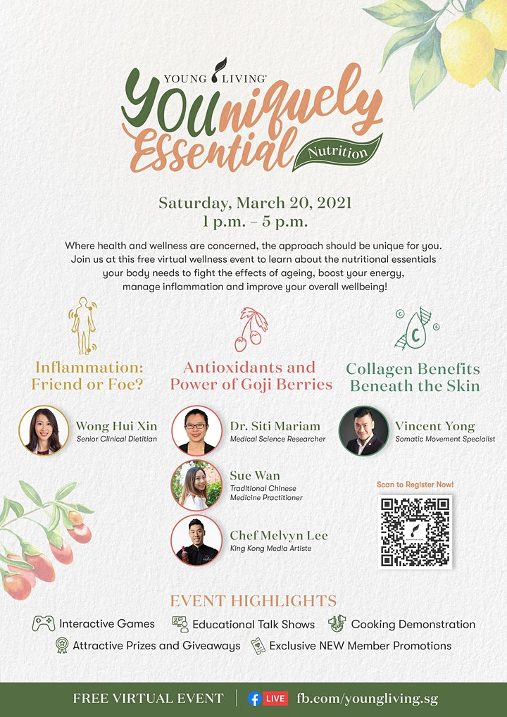 FREE Virtual Wellness Event - YOUniquely Essential: Nutrition image