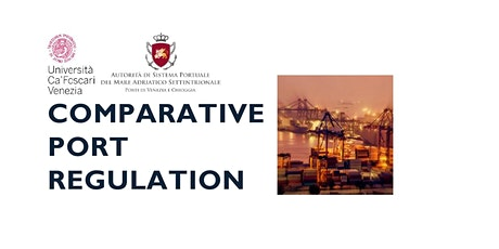 COMPARATIVE PORT REGULATION - LAUNCH EVENT tickets