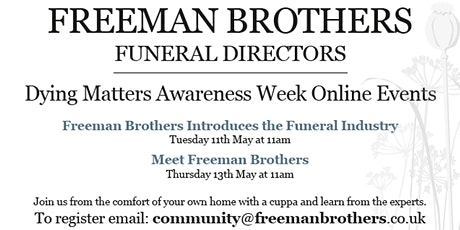 Freeman Brothers Introduces the Funeral Industry tickets