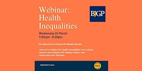 BJGP Webinar: Health Inequalities tickets