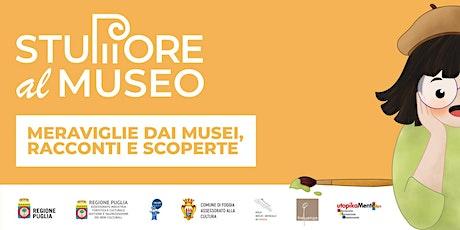"""""""Alla scoperta di Medusa - Stupore al Museo""""  Laboratorio artistico on line biglietti"""