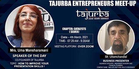 Fortnightly Business Networking Meeting - Tajurba NCR Catalysts tickets