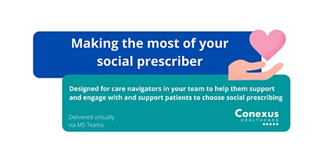 Making the most of your social prescriber tickets