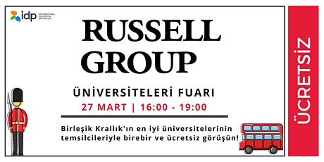 IDP ile Russell Group Üniversiteleri Fuarı tickets