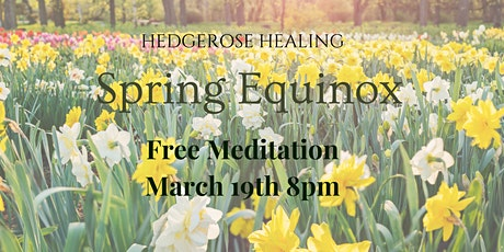 Spring Equinox - Meditation for the balance of night and day tickets