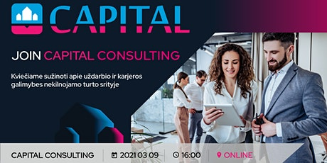 JOIN CAPITAL CONSULTING tickets