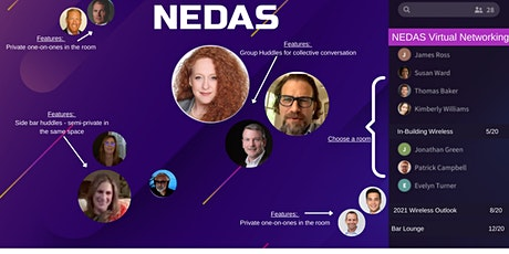NEDAS Networking (New Platform Unveiled) March 16, 2021 tickets