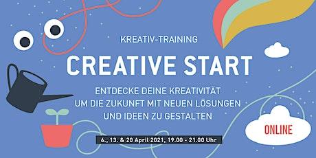 Creative Start - Entdecke deine Kreativität Tickets