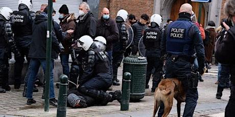 Les jeunes face à la violence policière à Bruxelles, quelles solutions? billets