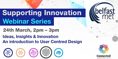 Ideas, Insights & Innovation-An introduction to User Centred Design tickets