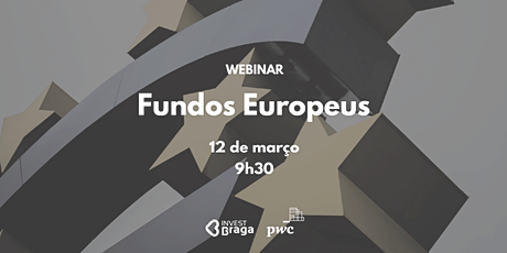 Webinar Fundos Europeus bilhetes