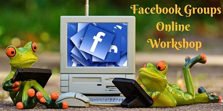 Facebook Groups  - online workshop tickets