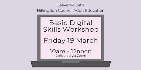 Basic Digital Skills Workshop tickets