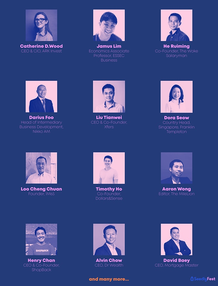 Seedly Personal Finance Festival 2021 image