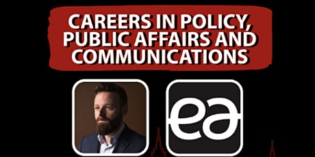 Careers In Policy, Public Affairs and Communications tickets