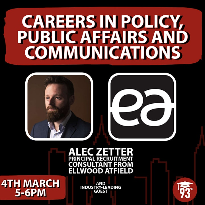 Careers In Policy, Public Affairs and Communications image