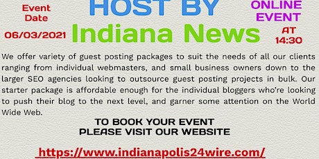 Indianapolis Explain Some Useful Tips  How to Guest Posting tickets