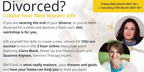 Divorced?  How to create your new, vibrant life! tickets