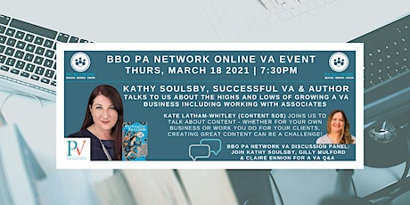 BBO PA Network - VA Special Online Event 'Growing Your Business' tickets