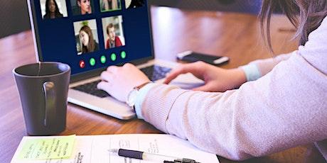 Online Training: Chairing Virtual Meetings tickets