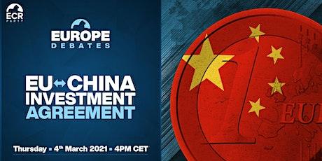 Europe Debates: EU-China Investment Agreement tickets