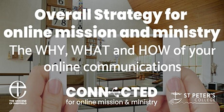 CONNECTED: An overall strategy for online mission and ministry tickets