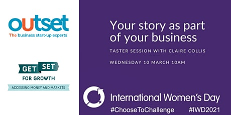 Using Your Story as a Part of Your Business - An IWD Taster Session tickets