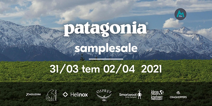 Afbeelding van Patagonia® sample sale (31/03 - 02/04/2021)