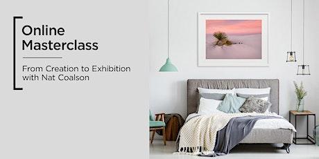 Online Masterclass | Epson | Creation to Exhibition tickets