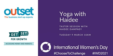 Yoga with Haidee - an IWD Taster Session tickets