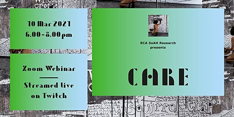 SoAH Research Presents | 'I Care By...' (A Recital) tickets