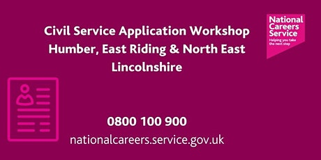 Civil Service Recruitment Workshop - Humber, East Riding, NE Lincolnshire tickets