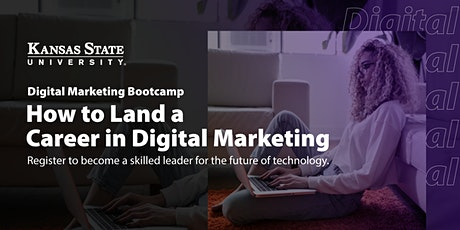 How to Launch a Career in Digital Marketing | Virtual Info Session tickets