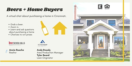 Beers + Home Buyers: A Virtual Q/A for Cincinnati Home Buyers tickets