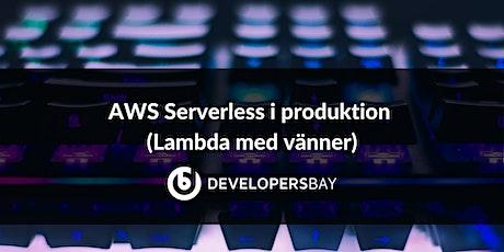 AWS Serverless i produktion biglietti