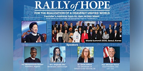 Universal Peace Federation's 5th Rally of Hope tickets