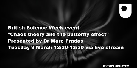 Chaos theory & the butterfly effect Tickets
