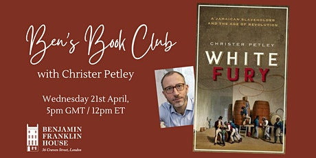 Ben's Book Club: 'White Fury' by Christer Petley tickets