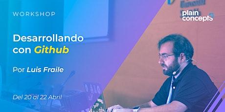 Workshop Desarrollando con GitHub tickets
