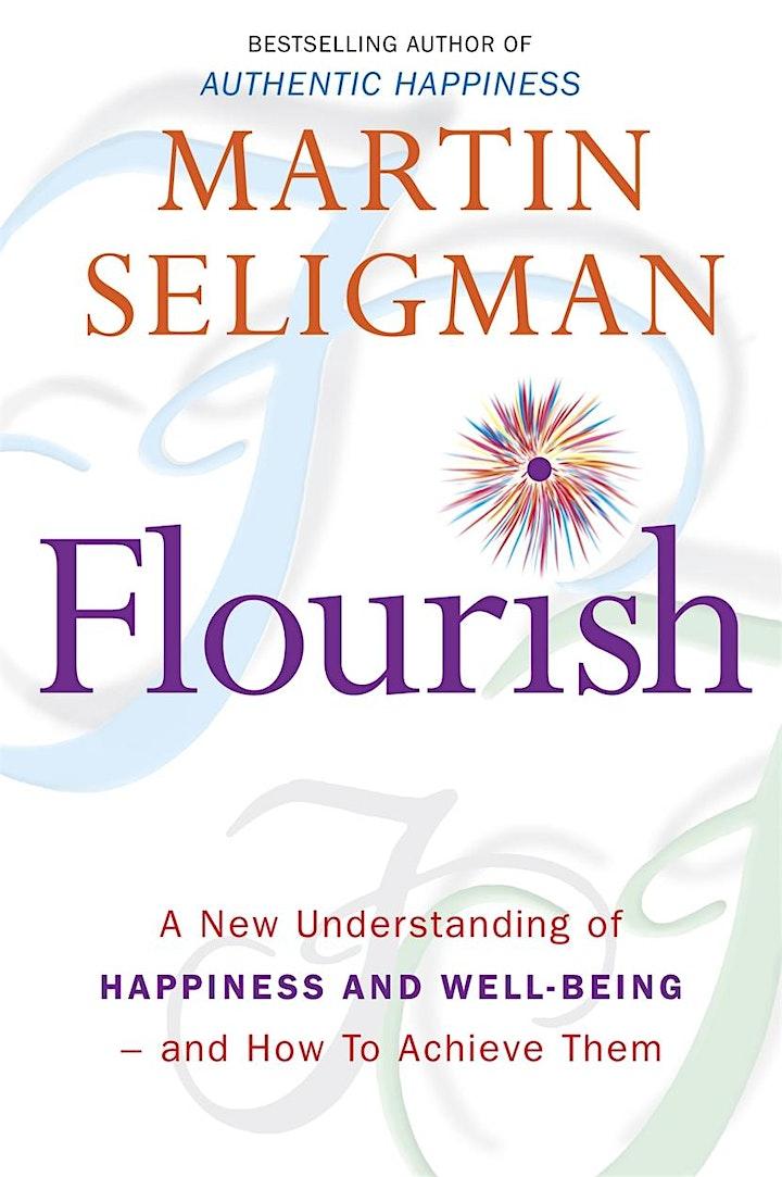 """Flourish"" by Martin Seligman - Self-Help Book Club image"