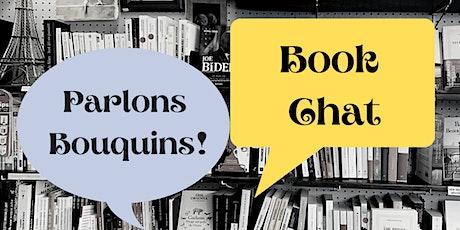 Parlons Bouquins! (Book Chat) billets